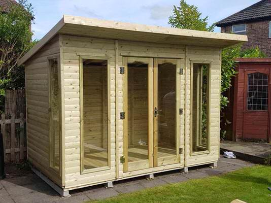 TIMBERLAND SHEDS YORKSHIRE Homepage - Modern garden summer house
